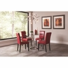 5PC Clemente Upholstered Dining Set