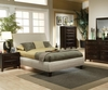 5PC Contemporary Phoenix Set Upholstered Bed 300369-COC
