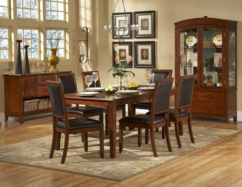 5PC Dining Room Avalon Set table & 4 Chairs Furniture