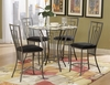 5PC Dining Room Flight Set table & 4 Chairs DC Furniture Stores