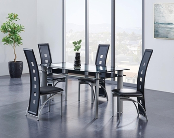 5PC Dining Set # D1058DT W/ D1058DC