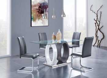 5PC Dining Set # D1628DT W/ D915DC