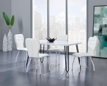 5PC Dining Set # D1661DT W/ D205DC