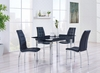 5PC Dining Set # D30DT W/ D716DC