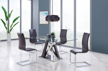5PC Dining Set # D4100DT W/ D991DC
