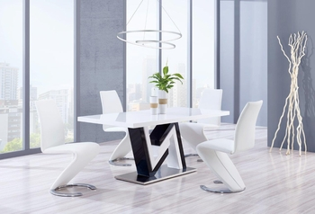 5PC Dining Set # D4163DT W/ D9002DC
