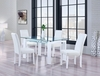 5PC Dining Set # D648DT W/ DG020DC