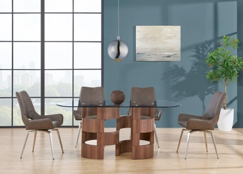 5PC Dining Set # D866Dt W/ D4878DC