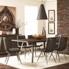 5PC Fremont Industrial Dining Table Set