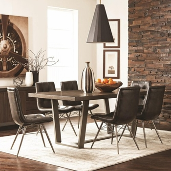 5PC Hutchinson Modern Dining Table Set  by Scott Living