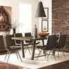 5PC Hutchinson Modern Dining Table Set