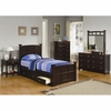 5PC Jasper Full Storage Bed with Drawers bedroom set