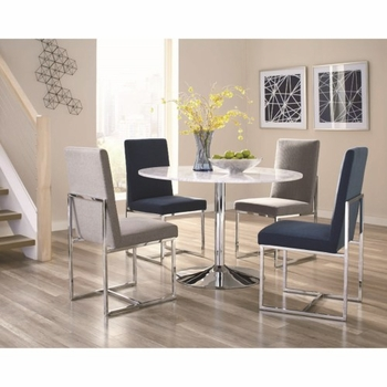 5PC Mackinnon Modern Table and Chair Set
