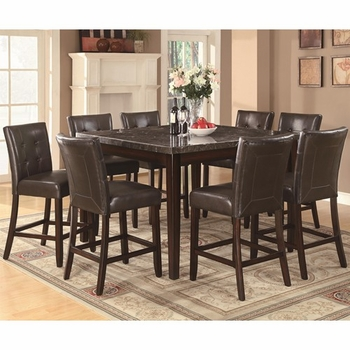5PC Milton Counter Height Table and Stool Set