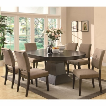 5PC Myrtle Table and Side Chair Set