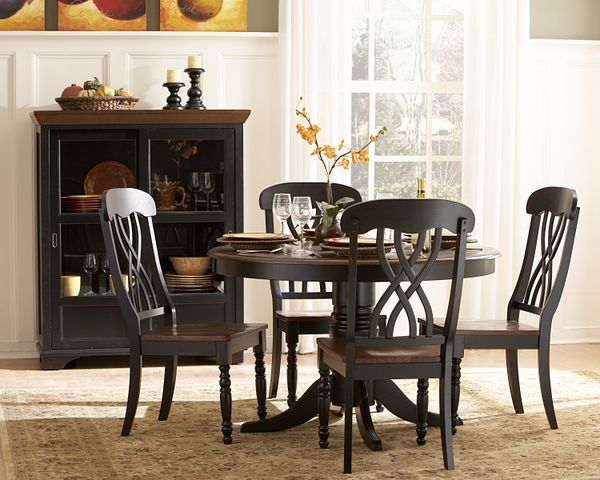 5PC Ohana Set Dining Table And 4 Chairs