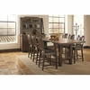 5PC Padima Rustic Counter Height Dining Set