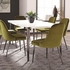5PC Riverbank Contemporary Dining Room Table Set by Scott Living