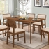 5PC Sasha Retro Rectangular Dining Set