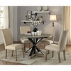 5PC Tobin Rustic Table and Chair Set with Nailhead Trim