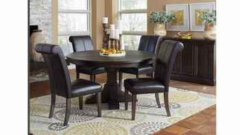 5PC Weber Round Dining collection