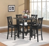 5PCS Dinette Counter Height Dining Set Furniture DC Stores