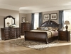 5 PC Bedroom Set Hillcrest Manor Queen beds, Nightstand, Chest, Dresser, Mirror