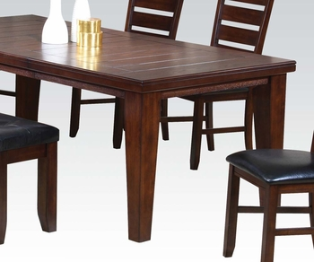 6 PC Urbana Dining Set table, 4 side chairs and bench