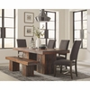 6PC Binghamton Sheesham Rustic Dining Set