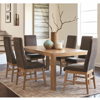 6PC Kingston Transitional Table and Chair Set
