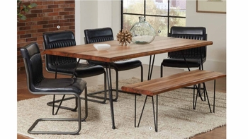 6PC Rustic Chambler dining collection