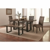 6PC Westbrook Dining Casual Rustic Mix-and-Match Dining Set