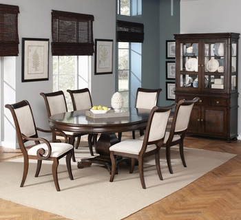 7 PC Harris Dining Table, 2 Arm Chair and 4 Chair Set