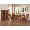 7 PC Marbrisa Dining Set table 4 chairs 2 arm chairs