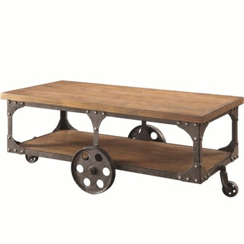 70112 Coffee Table with Shelf