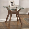 70416 End Table with Glass Top