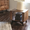 70549 Two-Toned Rustic End Table