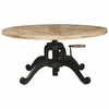 70552 industrial Adjustable Height Coffee Table by Scott Living