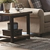 70567 Rustic Planked Top End Table