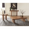 70584 Rustic Rectangular Coffee Table