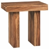 70584 Rustic Rectangular End Table