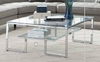 70588 Contemporary Glass Top Coffee Table