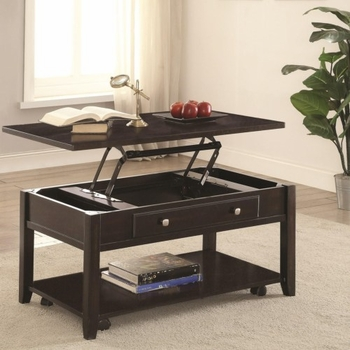 721038 Rectangular Lift Top Coffee Table