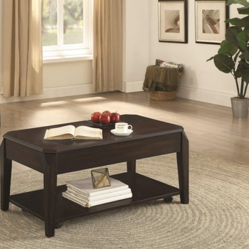 721048 Rectangular Lift Top Coffee Table