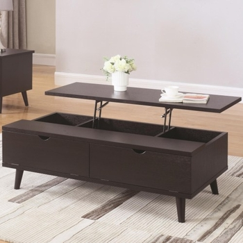 72112 Mid Century Modern Lift Top Coffee Table