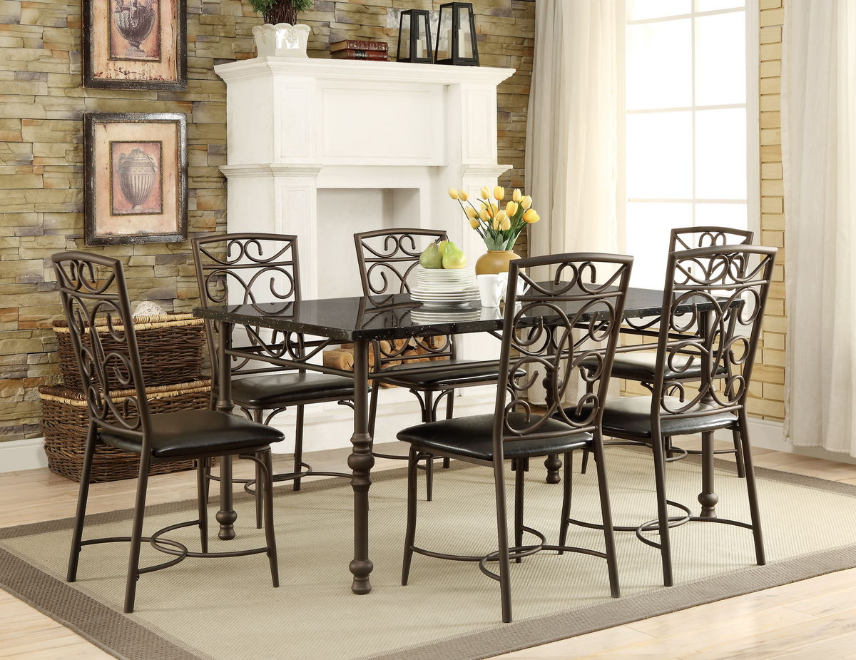 7PC Dryden Dining Room Set
