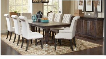 7PC weber Dining collection
