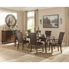 7PC Williamsburg Dining Table with Leaf Set