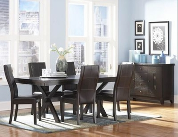 7PCS Modern Sherman Dining Room Set Arlington Furniture