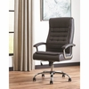 801528 Black Leatherette Office Chair by Scott Living